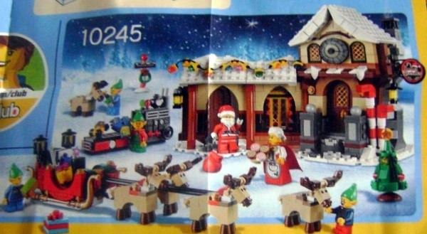 LEGO Creator 10245 Santa's Workshop