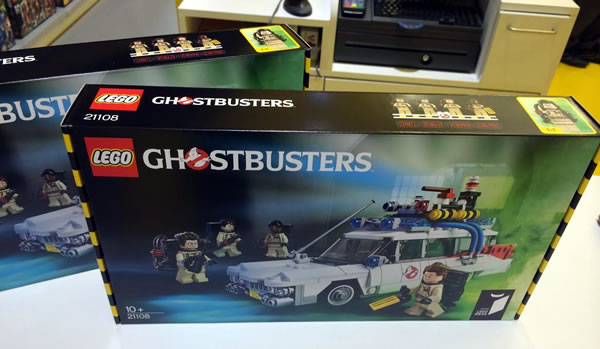 LEGO Ideas 21108 Ghostbusters