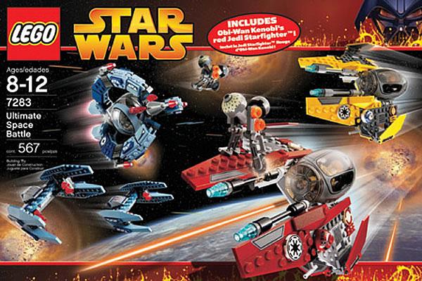 LEGO Star Wars 7283 Ultimate Space Battle