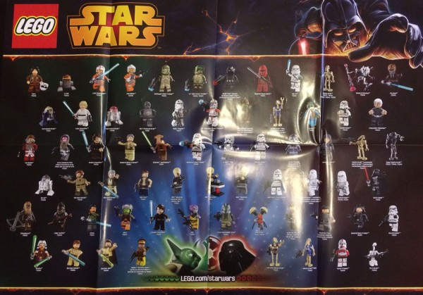 LEGO Star Wars 2H2014 Minifigures