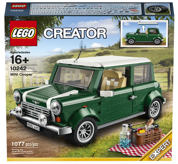10242 LEGO Creator Expert MINI Cooper MK VII