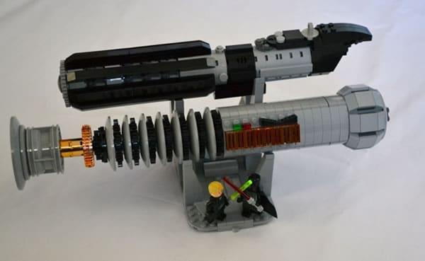 LEGO Lightsabers: Darth Vader and Luke Skywalker