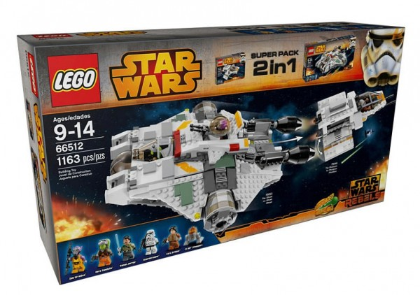 66512 LEGO Star Wars Super Pack 2in1 (75053 The Ghost + 75048 The Phantom)