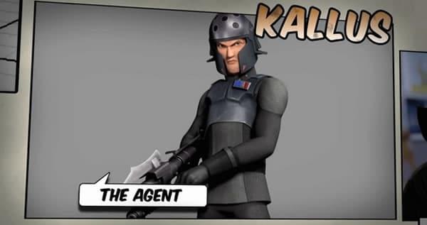 Star Wars Rebels : Agent Kallus