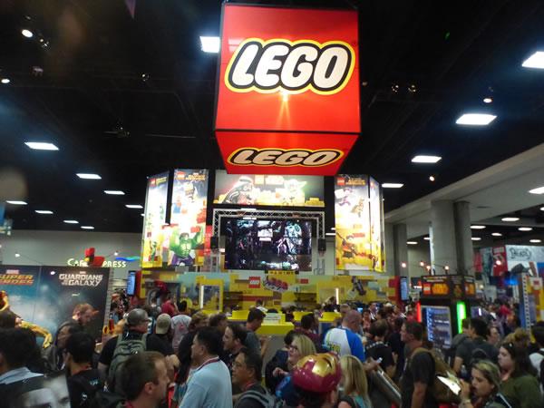 LEGO @ SDCC 2014