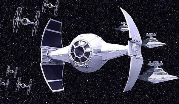 Star Wars Rebels : Le Tie Advanced de l'Inquisitor