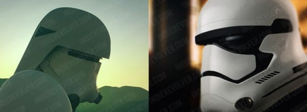 Star Wars Episode VII : Snowtrooper & Stormtrooper ?