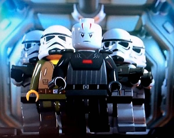 LEGO Star Wars Rebels : Ezra Bridger, Inquisitor & Stormtroopers