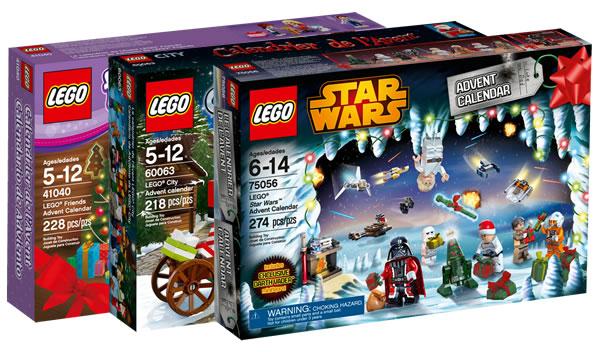 LEGO 2014 Advent Calendars