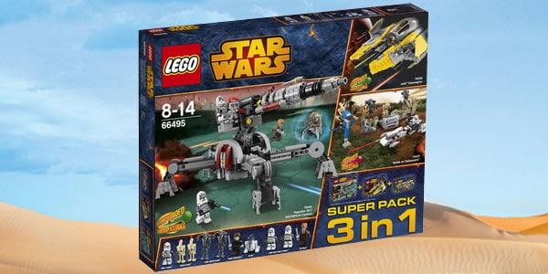 66495 LEGO Star Wars Super Pack 3 in 1