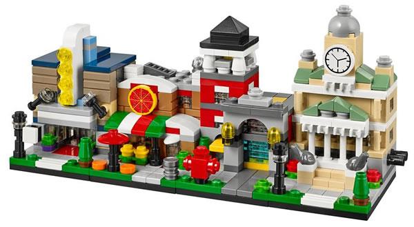 Bricktober 2014 LEGO Micro Modulars (Toys R Us exclusive)