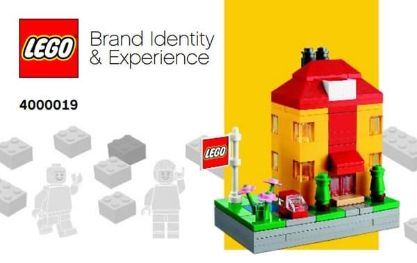 4000019 LEGO Brand Identity & Experience