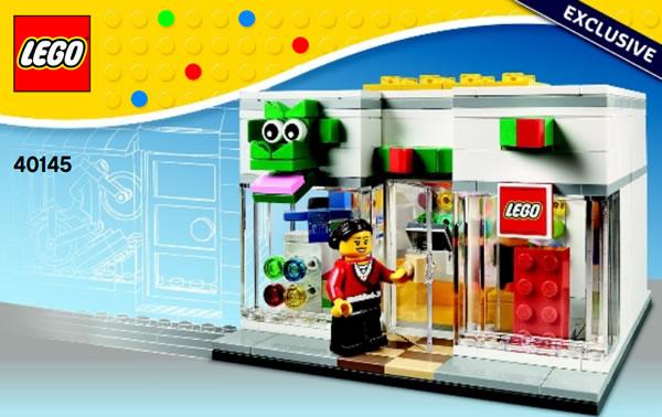 40145 LEGO Brand Retail Sotre
