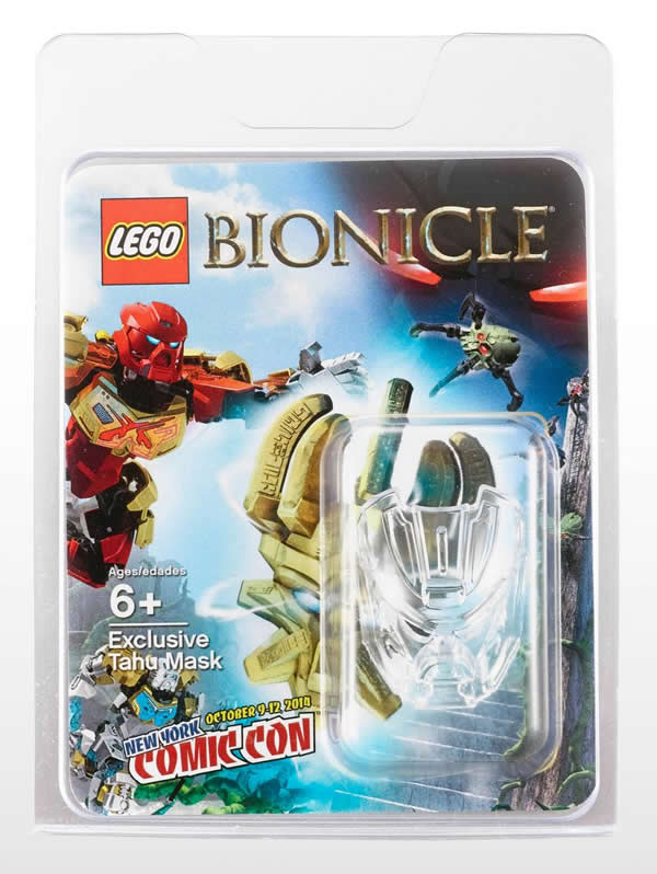 LEGO Bionicle NYCC 2014 Exclusive Tahu Mask