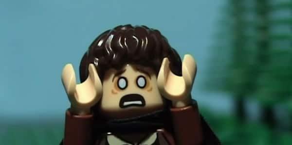Brickfilm : Looser of the Rings