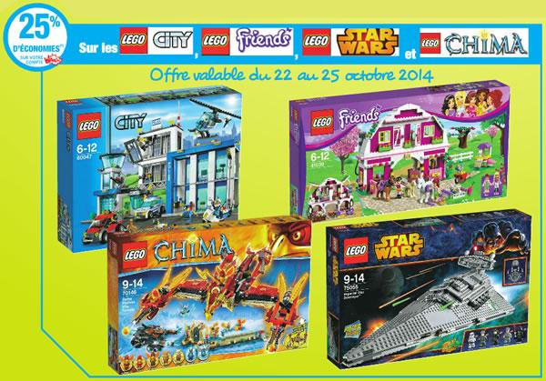 Auchan 25 d 39 conomies sur plusieurs gammes lego hoth - Carte de fidelite auchan fr ...
