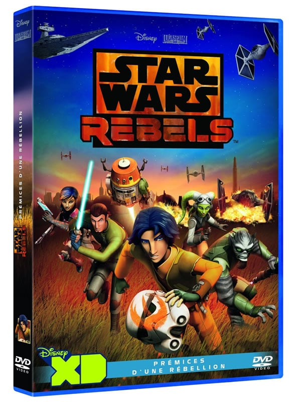 Star Wars Rebels DVD