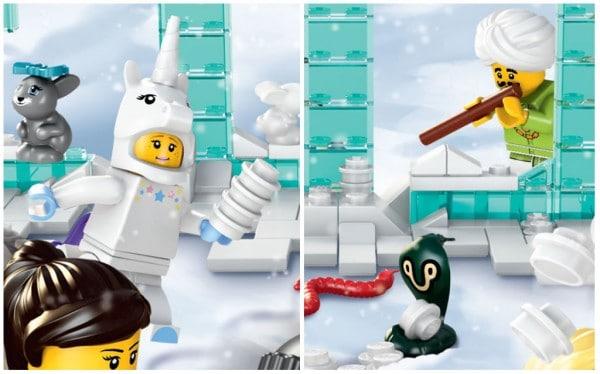 71008 Collectible Minifigures Series 13 : Unicorn Girl & Snake Charmer ?