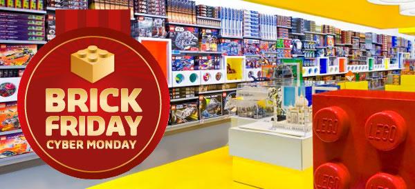 Brick Friday / Cyber Monday : Quelques infos sur les offres prévues