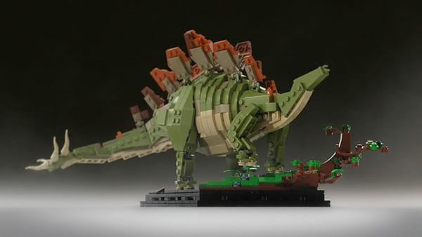 Bricksauria | Stegosaurus par Senteosan sur LEGO Ideas