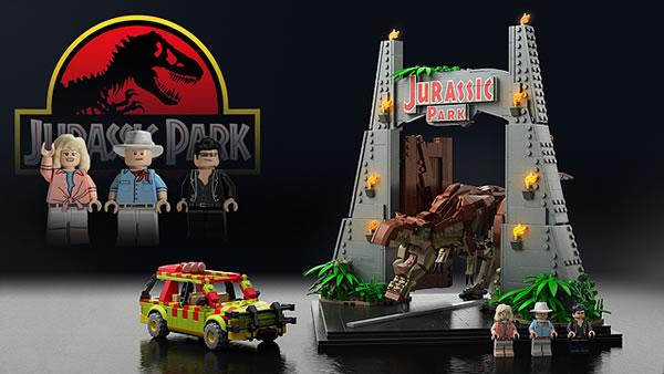 Jurassic Park par Senteosan sur LEGO Ideas