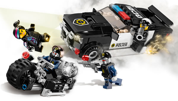 70819 Bad Cop Car Chase