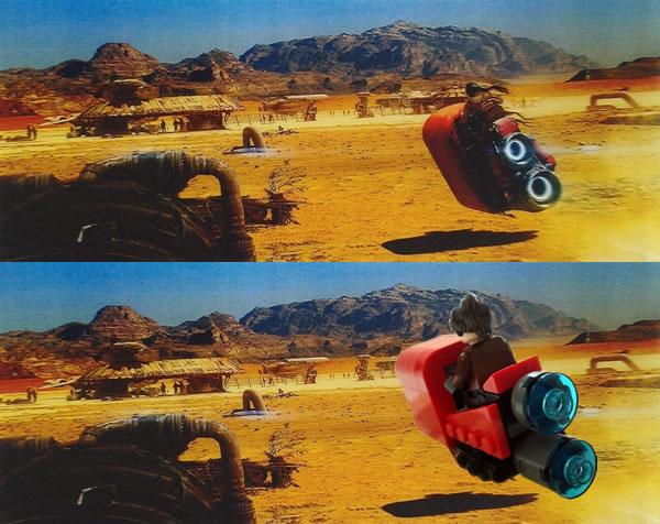 Star Wars : The Force Awakens - Pod Bike par Alexis