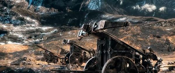the hobbit battle five armies