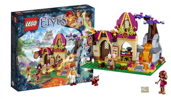 LEGO Elves 2015 : 41074 Azari and the Magical Bakery