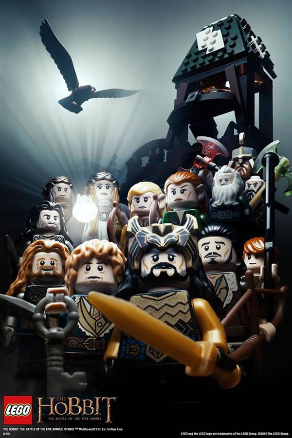 lego hobbit poster