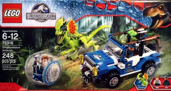 75916 Dilophosaurus Ambush
