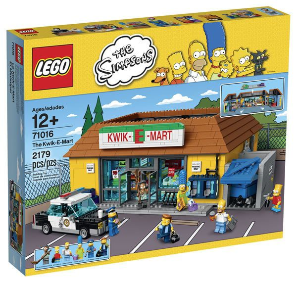 LEGO The Simpsons 71016 The Kwik-E-Mart