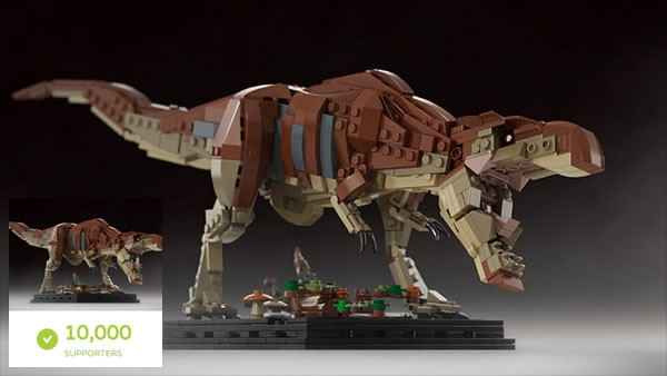Bricksauria | Tyrannosaurus rex