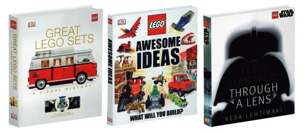 new lego books