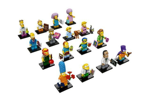 71009 The Simpsons Collectible Minifigures Series 2