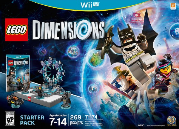 71174 LEGO Dimensions Starter Pack for Wii U