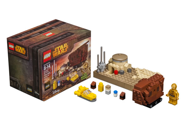 LEGO Star Wars Celebration Exclusive Tatooine Mini-build Set