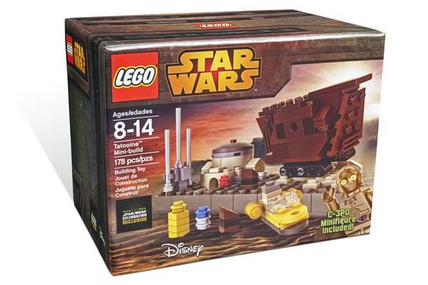 LEGO Star Wars Celebration Exclusive Tatooine Mini-build Set