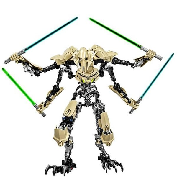 LEGO Star Wars Constraction Figure : General Grievous
