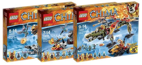Legends of chima les visuels des trois derniers sets de - Lego chima saison 2 ...
