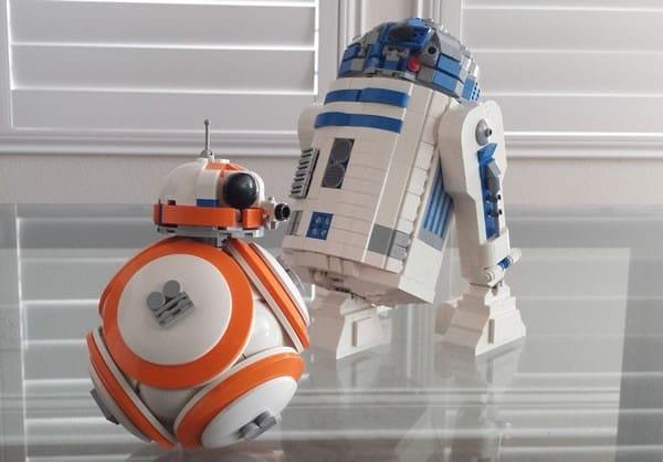 BB-8 & R2-D2 par SPARKART!