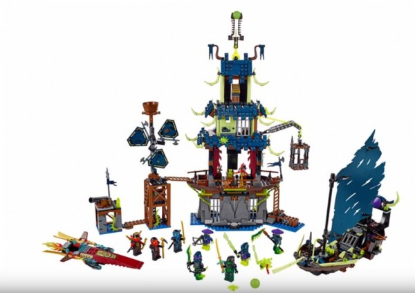 LEGO Ninjago 70732 The City of Stiix (2015)