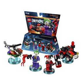 LEGO Dimensions 71229 DC Comics Team Packs