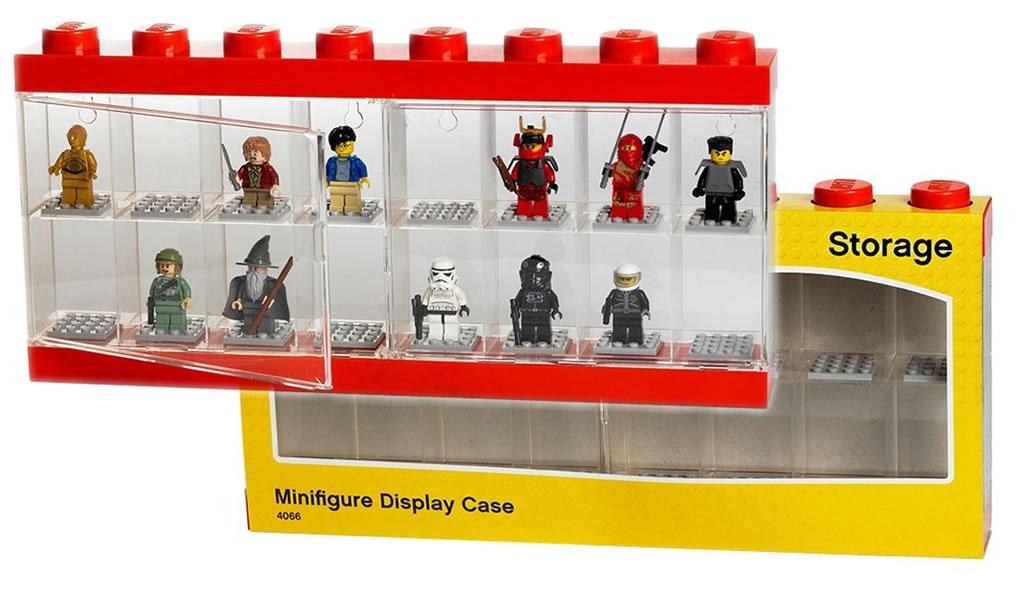Nouveau mod le am lior de vitrine lego pour minifigs for Modele maison lego