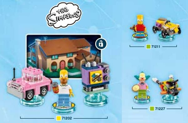 lego dimensions simpsons packs