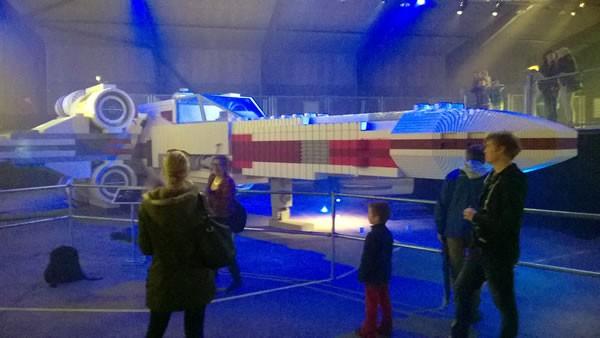 lego inside tour giant x wing