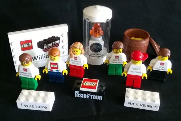 lego inside tour goodies