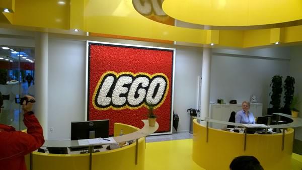 lego inside tour main office