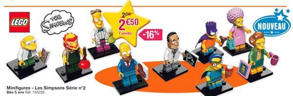 new simpsons minifigures lego