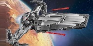 75096 Sith Infiltrator : Enfin disponible sur le Shop@Home